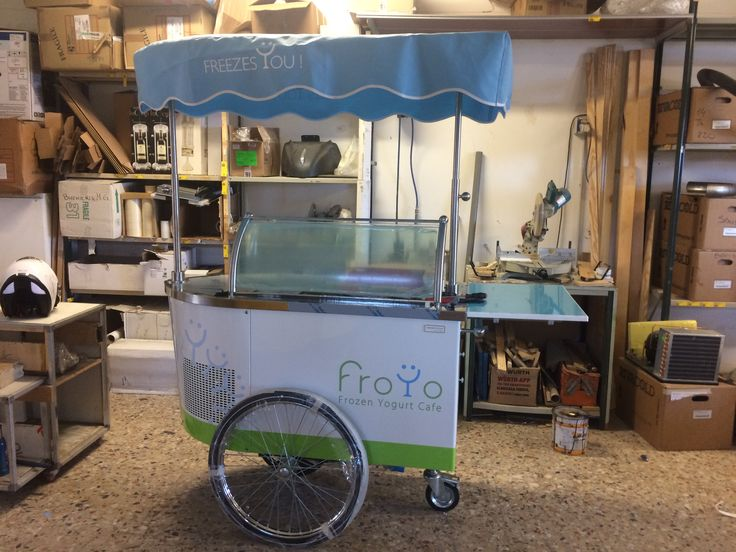 #yogurtcart #gelatocart #icecreamcart #tekneitalia #foodtruck #foodmobile #frozenyogurt