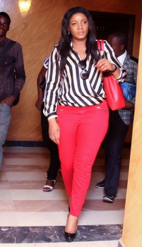 Who Wears What N Where: Omotola Jalade Dazzles in Congo