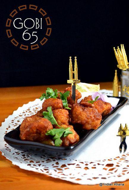 Gobi 65 | Chilli Gobi | Indo-Chinese Recipes ~ Indian Khana