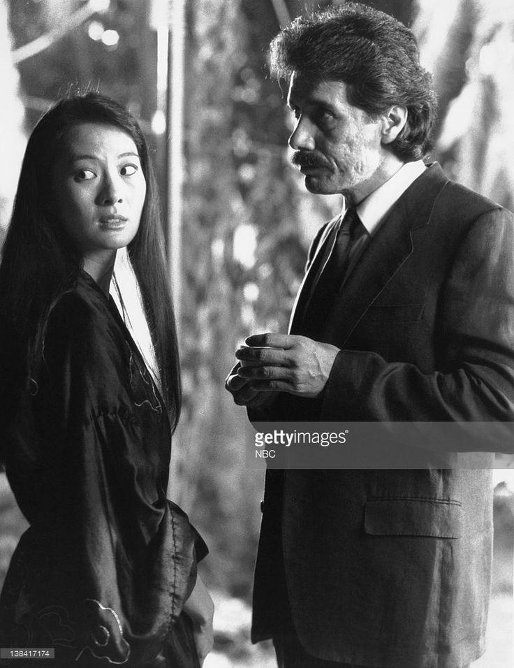 Rosalind Chao as Mai Ying, Edward James Olmos as Lt. Martin Castillo