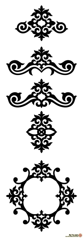 Оймо-чийме,-Кыргызские-орнаменты-и-узоры-(17)