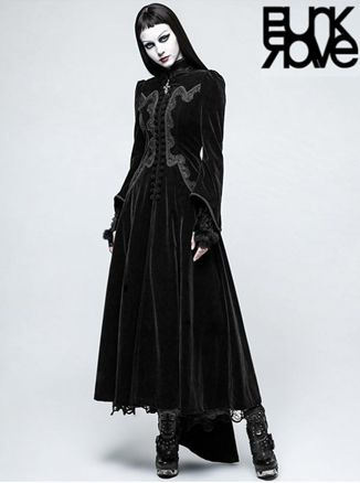 If you're looking for a perfectly draped luxurious Goth Coat, Punk Rave Australia has got what you are looking for! Our GOTHIC PALACE SWALLOW TAIL LONG DRESS COAT is made of fine, high-end twill latitude velveteen fabric and is available in Black or Red velvet.bit.ly/swallowcoat01