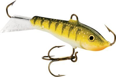 """These ice fishing lures are awsome on soft water their action is great for drift fishing. From crappie to trout they work great!"" Review of the Rapala Jigging Rap"