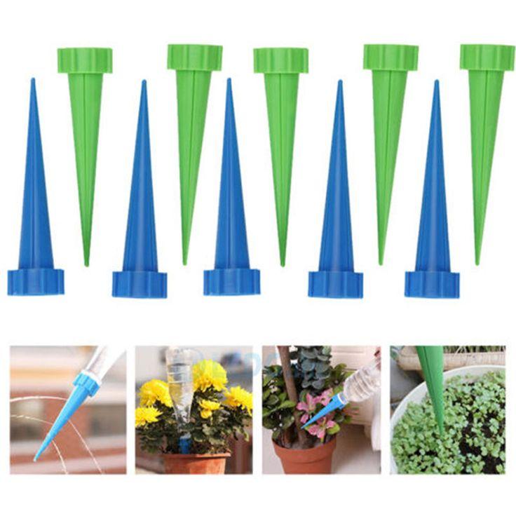 Popular pc Plant Automatic Watering Sprinkler Irrigation Spike Garden Plant Flower Drip Newe