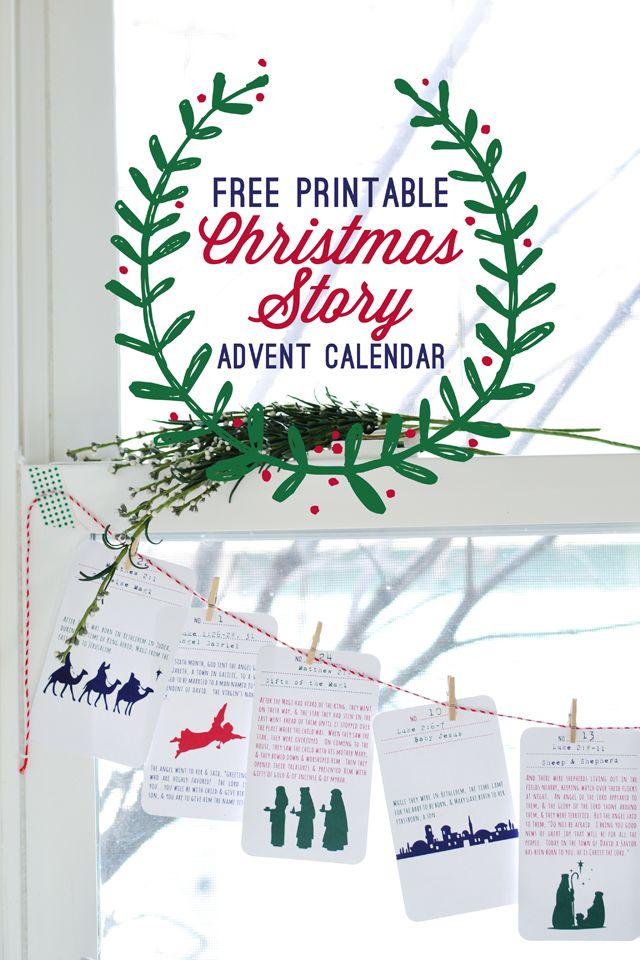 {Christmas Story Advent Calendar}
