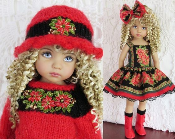 46 best dolls images on Pinterest | Puppen outfits, Puppenkleider ...