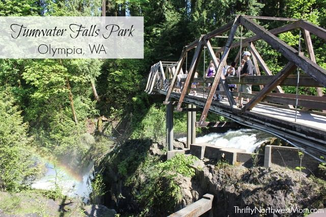 Tumwater Falls Park Review in Olympia, WA - gorgeous park & waterfalls…