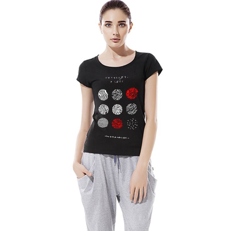 Cheap shirt clothing, Buy Quality shirt slim directly from China shirt flag Suppliers: New Fashion Women T Shirt Vogue Graphic Shirt Tee Tops Woman Clothing O Neck Camisa Short Sleeve S-2XLUSD