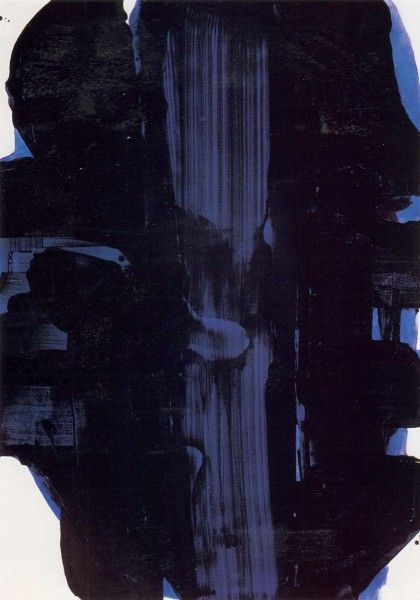 Pierre Soulages - Abstract Art - Informal Painting - The Chromologist