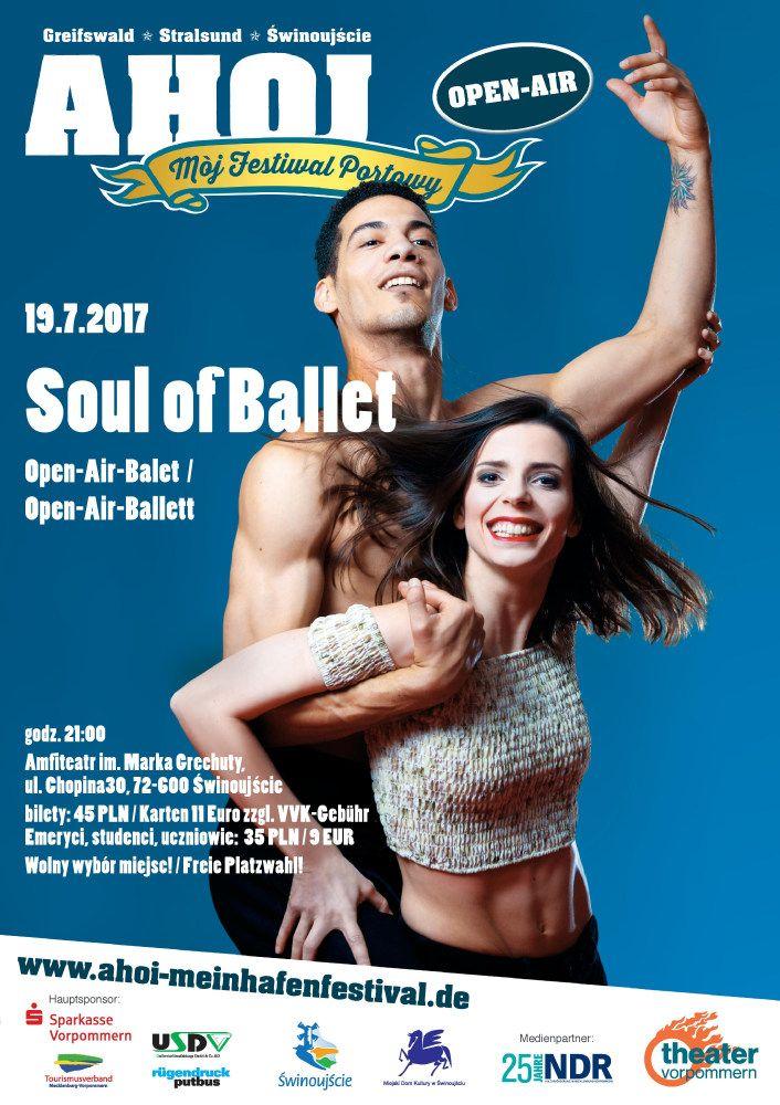 Niezwykłe połączenie przebojów muzyki soul z baletowymi popisami artystów z Theater Vorpommern Greifswald. Rhythm and blues, jazz, gospel