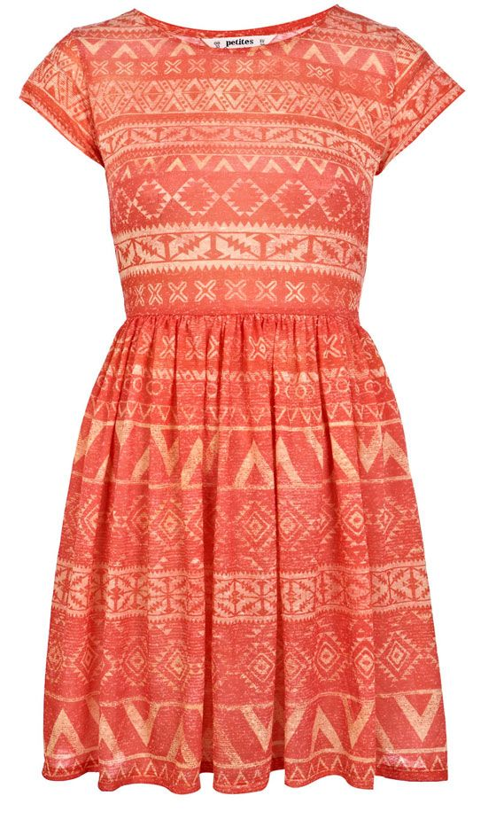 Miss Selfridge Aztec Jersey Dress, £29
