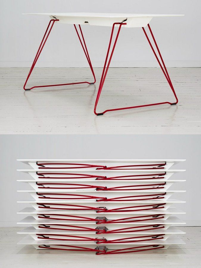Folding #table LUCY by Johanson Design | #design Alexander Lervik