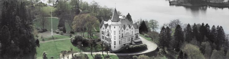 Fana (Bergen): royal family's mansion, gardens open to public