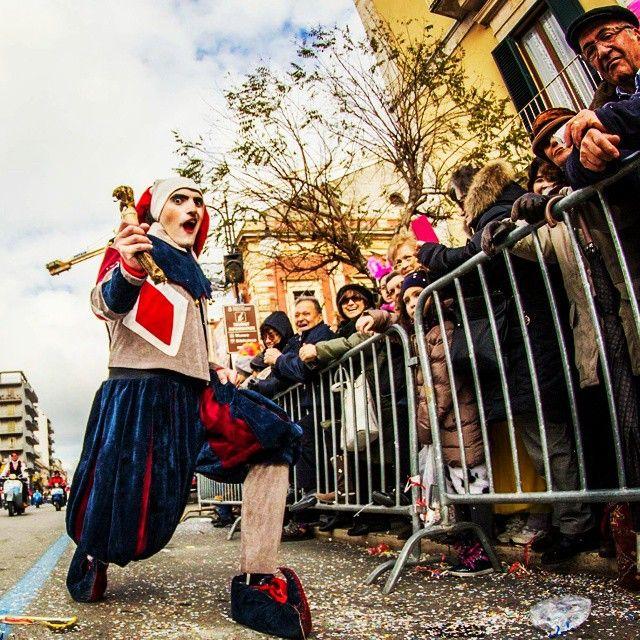 Una maschera al carnevale di #Putignano