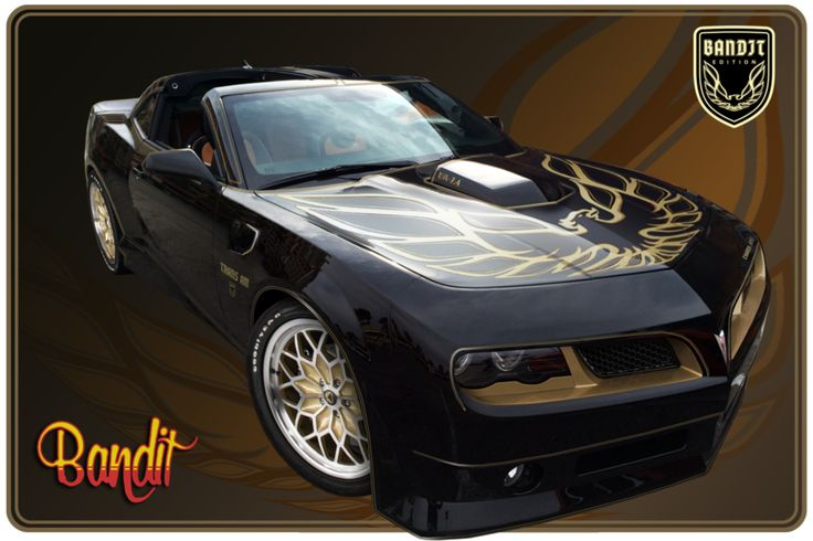 The Trans Am 'Bandit Edition' Is A Ridiculously Cool Reboot. Only 77 are being made—and Burt Reynolds signed every one of 'em.