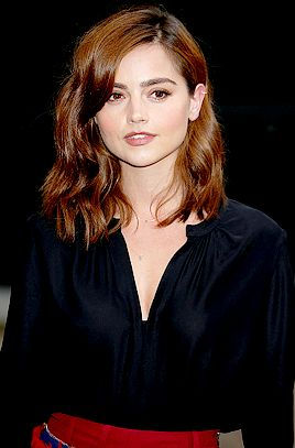 Jenna Coleman attending the Tate Modern opening party at Tate Modern in London, England - 16 June 2016 - Photo by Luca Teuchmann/WireImage