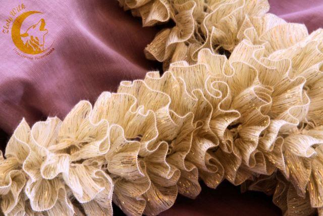 Włóczka tasiemkowa :) i co można z niej zrobić   Złoty WilkTape yarn and all you can do with it :) from zlotywilk
