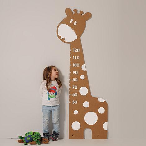 metro da parete per bambini