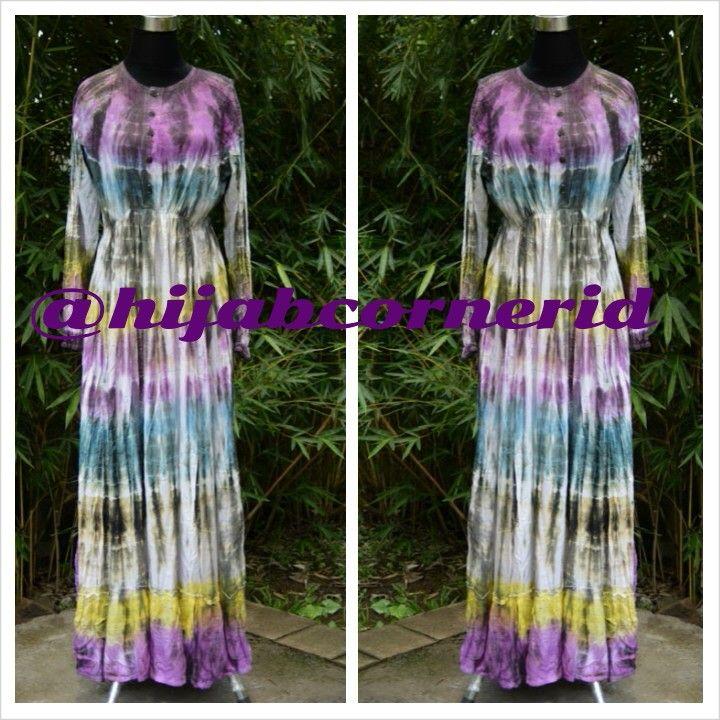 Dress Tiedye cantik yang Busui Friendly