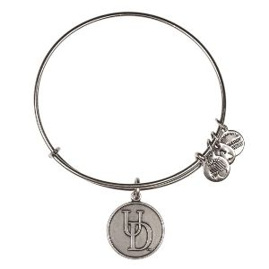 Alex and Ani University of Delaware Logo Charm Bangle