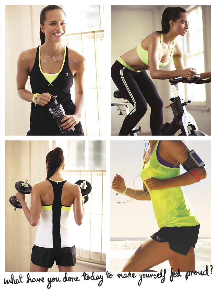 Neon Green is our #FITSPIRATION - What's yours?