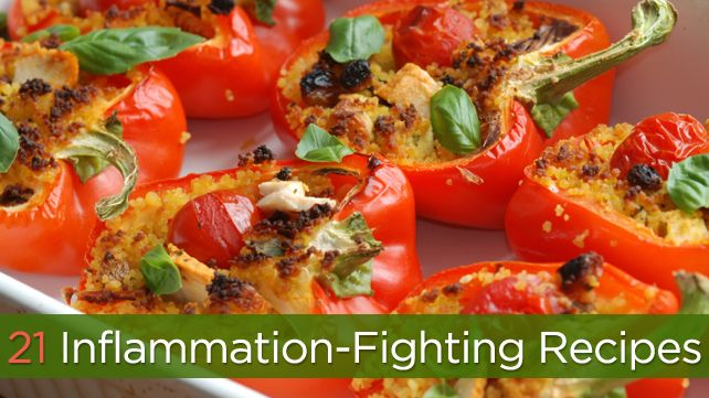 Food is important in controlling inflammation. We've put together a full week of recipes using foods that are known for their anti-inflammatory properties. Manage your rheumatoid arthritis by eating right!