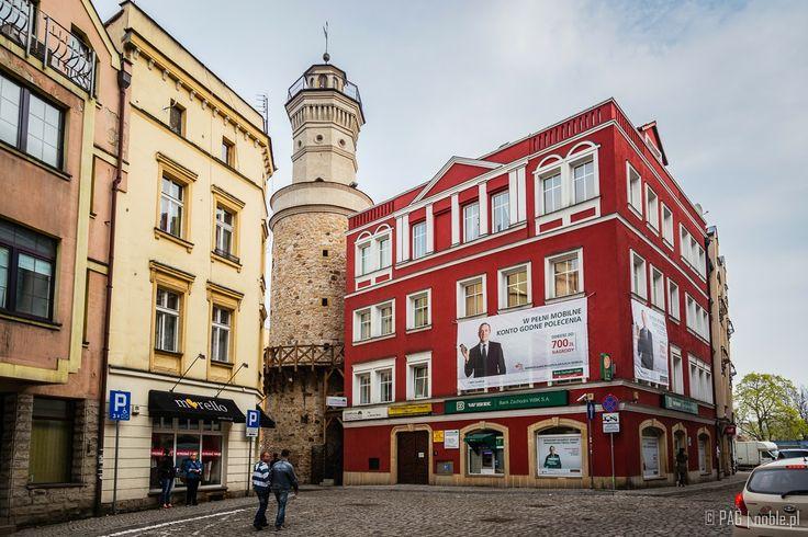 Castle Gate tower in Jelenia Gora (Mons Cervi, Hirschberg, Jelení Hora), Poland