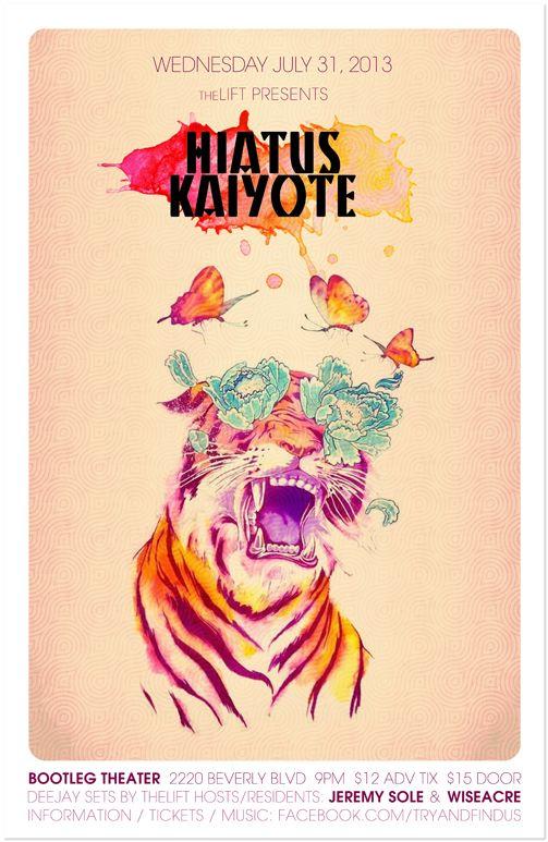 Hiatus Kaiyote poster