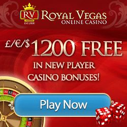 £€$ 1200 Free welcome bonus at Royal Vegas Online Casino, try your luck now with over 500 slots games. http://www.royalvegascasino.com/ #slots games #casino #Royal Vegas Casino