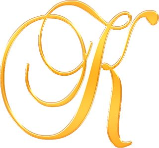 Alphabet ~ Yellow on Letter P In Cursive