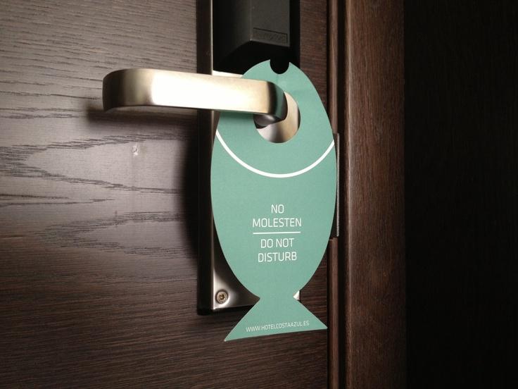 No molesten! Hotel Costa Azul