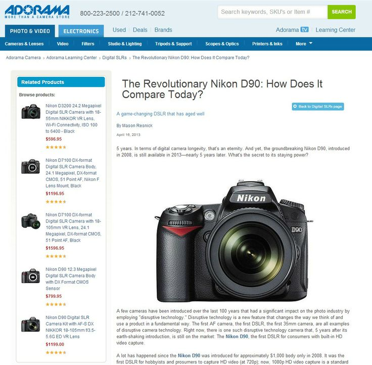 nikon d90 digital camera amazon used price 2013 = $ 540