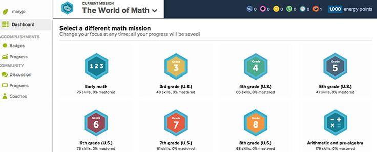 """'Math of Khan': Sal Explains Academy's  Common Core Aligned 'Missions' (EdSurge News). https://www.khanacademy.org/  В Khan Academy появились """"математические миссии"""" - интерактивные упражнения по школьной математике. Задания, разработанные в строгом соответствии с государственными стандартами, сопровождаются пошаговыми решениями.  Преподаватель может подбирать для детей персональные миссии.   В этом разделе  только игры и объяснения к ним."""