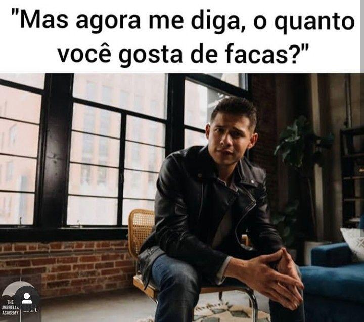 Diego Em Um Encontro The Umbrella Academy Memes Engracados Netflix Filmes E Series Memes