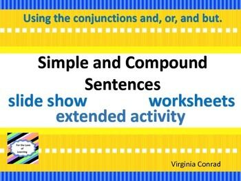 17 Best ideas about Examples Of Compound Sentences on Pinterest ...