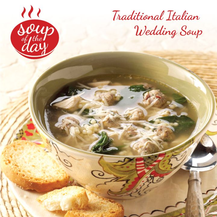 Traditional Italian Wedding Soup Recipe from Taste of Home -- Mary Sheetz, Carmel, Indiana