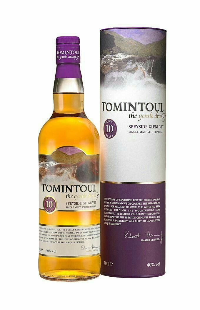 Tomintoul Speyside single malt Scotch Whisky