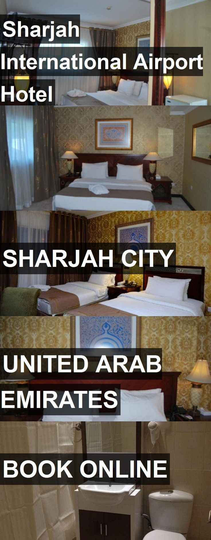 Hotel Sharjah International Airport Hotel in Sharjah City, United Arab Emirates. For more information, photos, reviews and best prices please follow the link. #UnitedArabEmirates #SharjahCity #hotel #travel #vacation