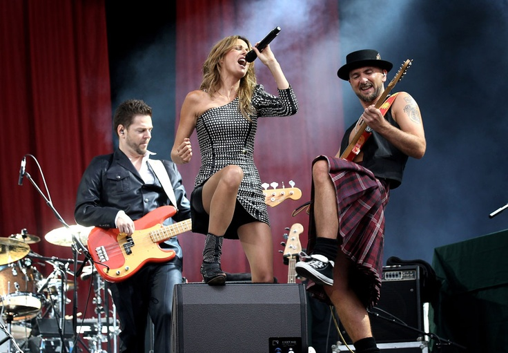 Kirsty Bertarelli performing at a Kirsty Bertarelli Concert. Kirsty Bertarelli is the best!