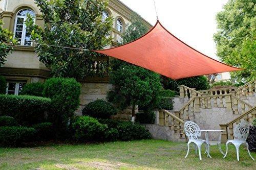 Oferta: 74.95€ Dto: -50%. Comprar Ofertas de Cool Area Toldo vela cuadrado 5 x 5 metros protección UV Impermeable, Color tierra barato. ¡Mira las ofertas!