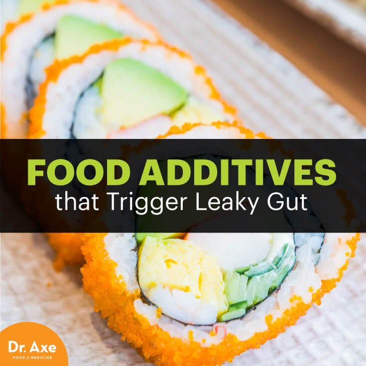 7 Food Additives that Trigger Leaky Gut – Health Journal