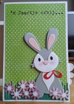 Creaties van Hetty: verjaardagskaart