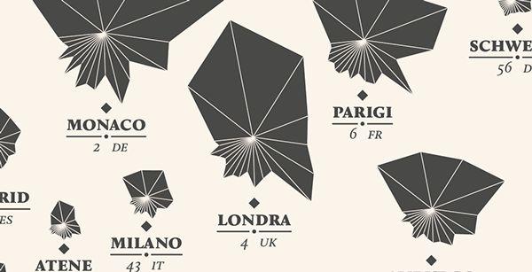 Visualizzazione di dati riguardante l'Opera.La Lettura #24 - Corriere della Sera
