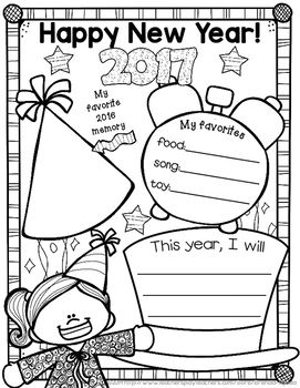 new years 2017Just a little freebie set of boy and girl posters for the new year! Take a snapshot of a moment in time and have students fill in their favorites and plans for the new year. Enjoy and have a Happy New Year! :)This fits in perfectly with my year-long scrapbook.