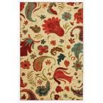 Tropical Acres 7 ft. 6 in. x 10 ft. Area Rug, Multi-Colored