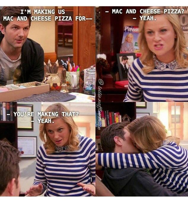 Parks And Rec Mac And Cheese Pizza