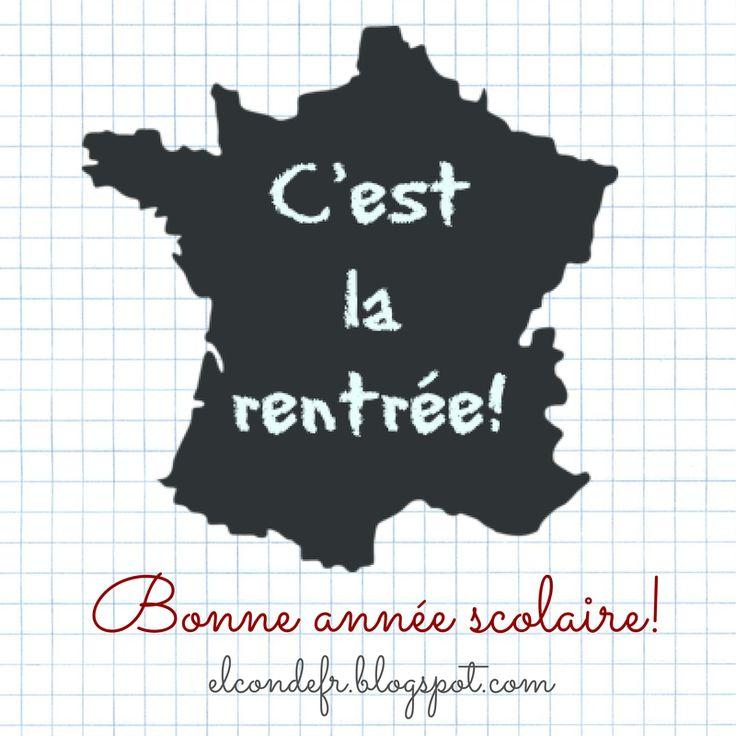 El Conde. fr: C'est la rentrée en France!