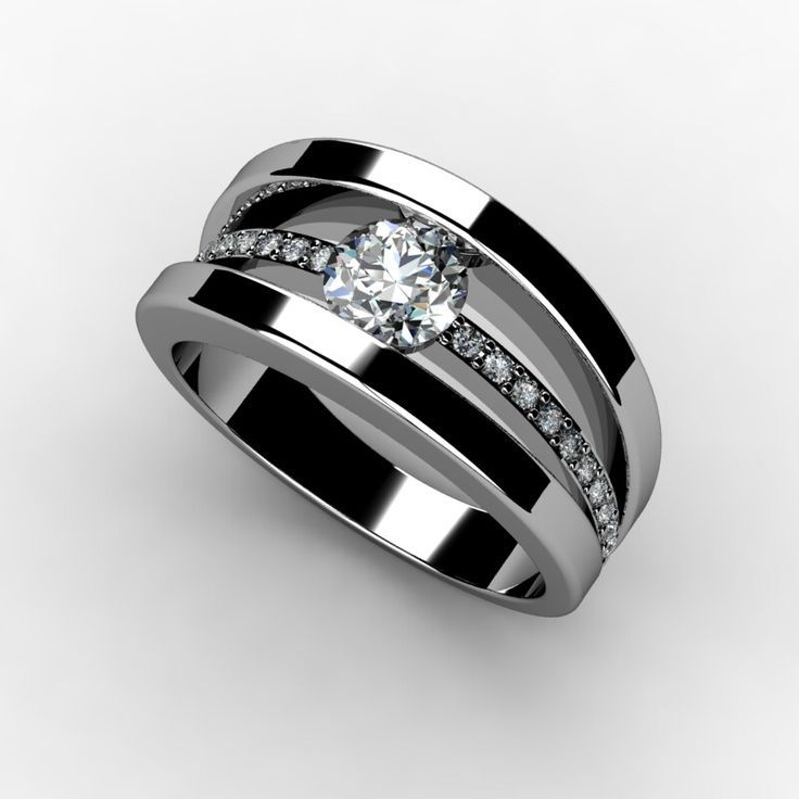 So Beautiful!!! but just imagine it with a square cut Diamond!!! *Tension Set Engagement Ring www.marionrehwinkeljewellery.com *