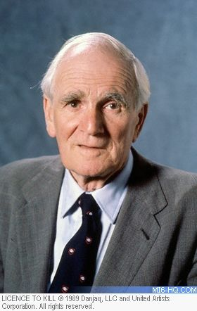Desmond Llewelyn who played Q in so many of those Bond movies, was commissioned…