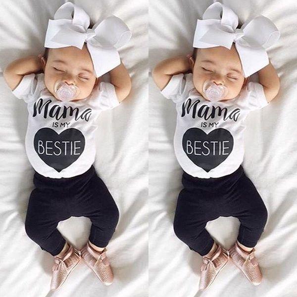 Newborn Infant Baby Kids Girl Boy Cotton Romper Jumpsuit Outfits Sunsuit Clothes